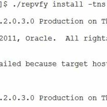 repvfy install problem