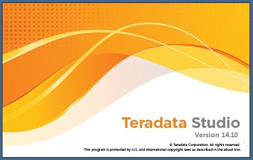 Teradata Studio Splash Screen