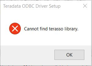 Cannot Find Terasso Library