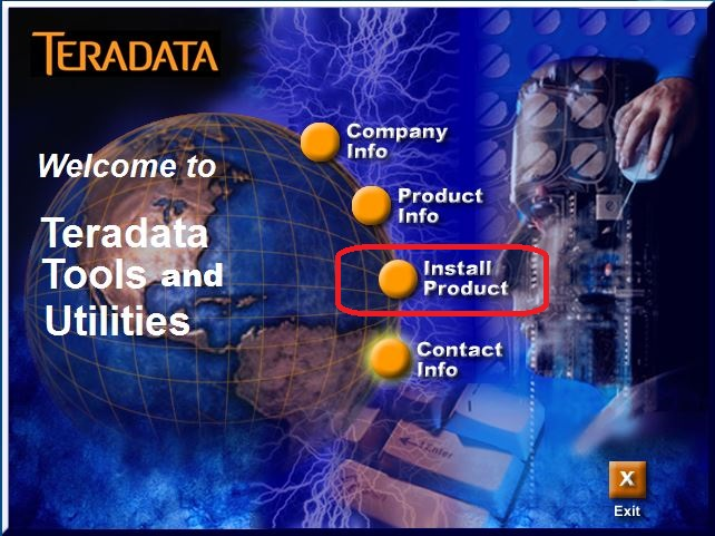 Teradata Tools And Utilities Splash Screen