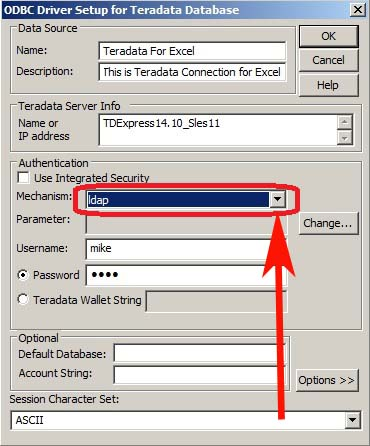 Creating an ODBC Connection to Teradata for Excel – TheSQLReport com