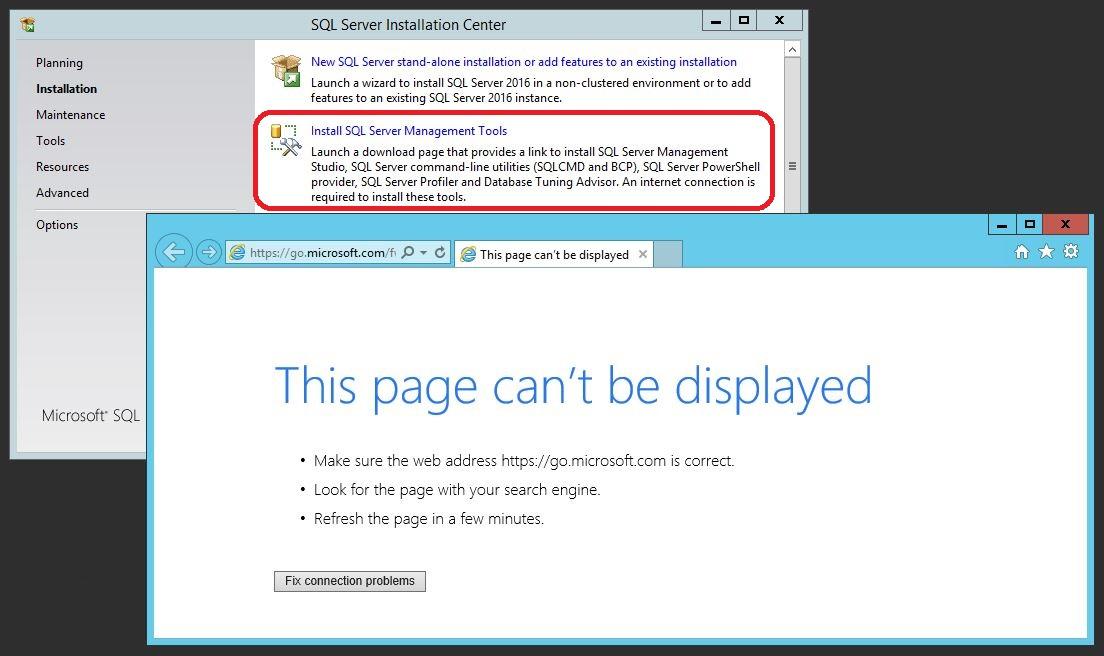 Install SQL Server Management Studio (SSMS) 2016 Without Internet