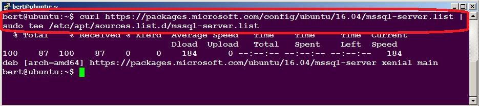 E: Unable to locate package mssql-server – Ubuntu SQL Server
