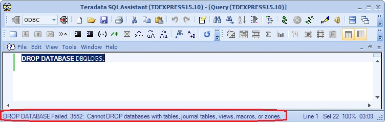 how to drop database in oracle