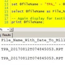 TimeDateToMillisecondsForStoredProcedure